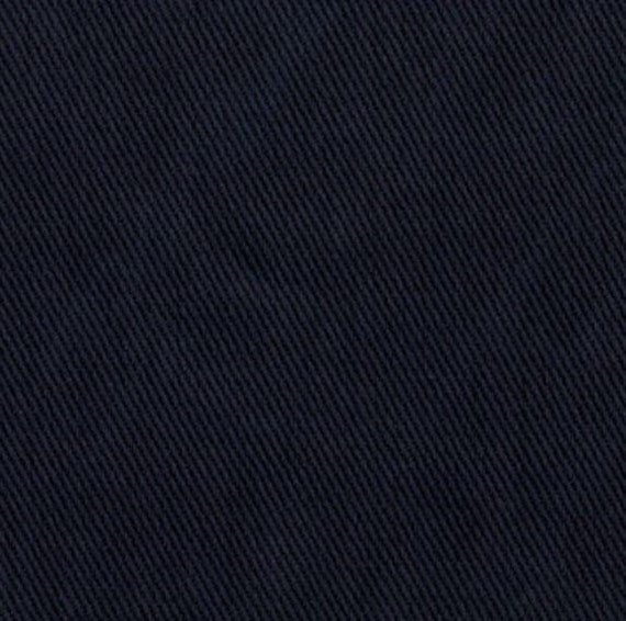 Cotton Twill Fabric Upholstery Slipcover Midnight Blue Home Etsy
