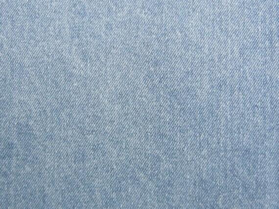 Light Blue Denim Fabric Heavy Weight Slipcovers Apparel Etsy