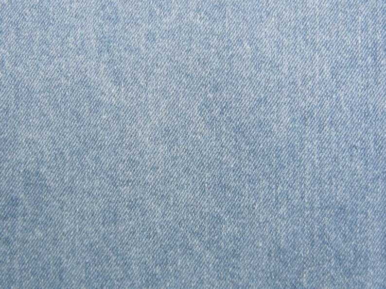 fab38c798f Stonewash Light Blue Denim Fabric Slipcovers Apparel