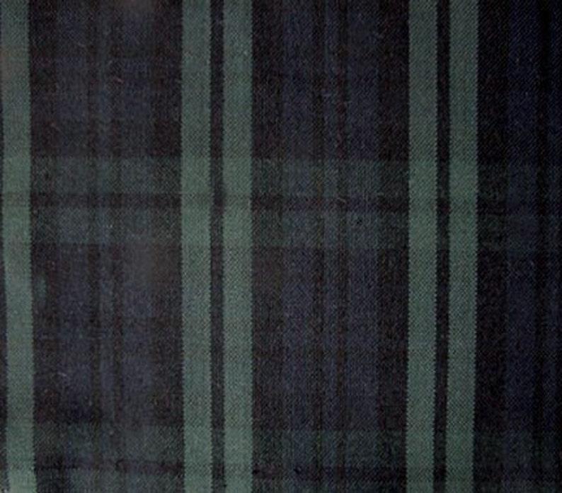 7e278c6cfc Black Watch Plaid Fabric Tartan For Home Decorating Apparel