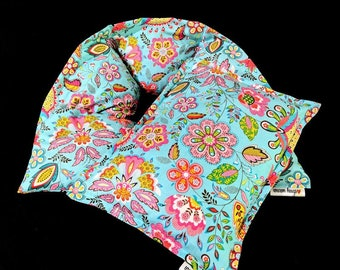 Warm Hugs Heating Pad Set, Neck Small Corn Bag, Microwave Heat Pack, Mothers Day Comfort Gift, Massage Therapy, Neck Back Pain Stress Relief