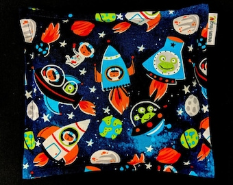 Corn Bags, Heat Pack, Corn Heating Pad, Microwave Corn Bags, Heated Bag, Ice Pack, Relaxation Gift, Gift for Children, Astronaut Space Bag