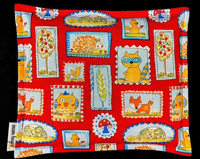 Kids Corn Bags, Heat Pack, Microwave Corn Heating Pad, Heated Bag, Ice Pack, Relaxation Gift, Gift for Children