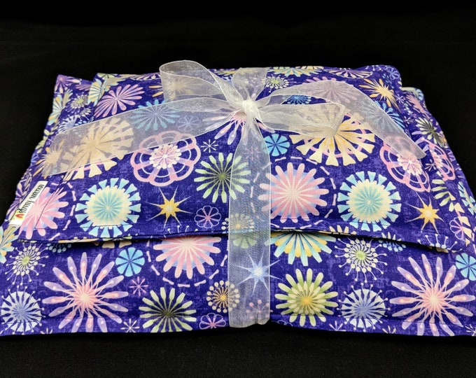 Heating Pad Set, Microwave Heat Pack, Corn Bags, Heat Pack, Cold Pack, Massage Therapy, Pain Relief, Get Well Gift, Dorm Room, Cramp Relief