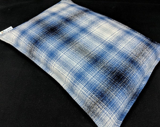 Large Flannel  Corn Bag, Corn Heating Pad, Corn Bags, Bed Warmer, Relaxation Gift, Microwave Heating Pad, Hot Cold Pack, Massage Heat Pack