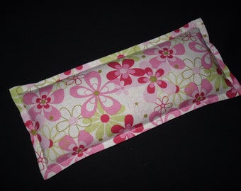 Spa Party Favor, Eye Pillow, Bridal Shower Favor, Therapy Corn Bag, Cold Pack, Heat Pack - Nearby Floral