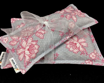 Microwave Heating Pads, Get Well Gift, Thank You Gift, Corn Bags, Spa Relaxation Pack, Hot Cold Therapy, Gift For Her, Mom Grandma Gift