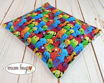 Warm Hugs Dog Corn Heating Pad 9x11, Corn Bag, Microwavable Heating Pad, Heated Pillow, Heat Pack, Dog Lover Gift, Gifts for Kids