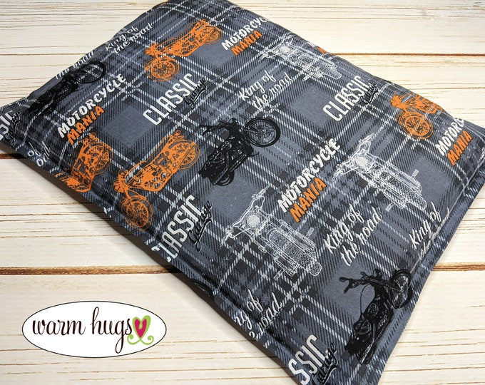 Warm Hugs Heating Pad, Microwave Heat Pack, Corn Bags, Hot Cold Therapy, Relaxation Gift, Muscle Aches, Cramps, Bed Warmer, Motorcycles