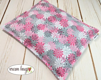 Warm Hugs Flannel 9 x 11 Microwave Corn Heating Pad, Corn Bags, Heat Pack, Relaxation Gift, Ice Pack, Muscle Pain, Bed Warmer, Heated Bags