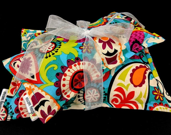 Microwave Corn Heating Pads, Get Well Gift, Corn Bag Set, Spa Relaxation Pack, Hot Cold Therapy, Gift For Her, Heat Pack, Migraine Headaches