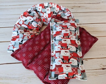 Corn Heating Pad Gift Set, Snowman Corn Bags, Microwave Heat Packs, Hot Cold Therapy, Christmas Gift for Family, Neck Pain Relief, Hostess