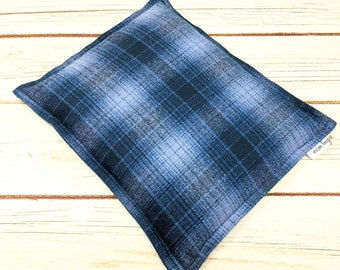Flannel Heating Pad 9x11, Microwave Heat Pack, Corn Bag, Hot Cold Sport Therapy, Migraine Headache, Relaxation Gift, Muscle Aches, Dorm Room