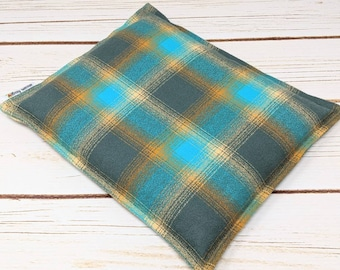 Warm Hugs Flannel Corn Heating Pad 9 x 11, Corn Bags, Microwavable Heat Pack, Massage Pillow, Hot Cold  Physical Therapy, Heated Bags