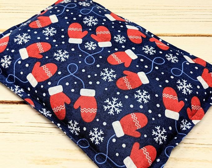 Microwave Corn Heating Pad, Warm Hugs Heat Packs, Mittens Corn Bags, Headache Sinus Pressure, Muscle Pain Relief, Secret Santa Christmas