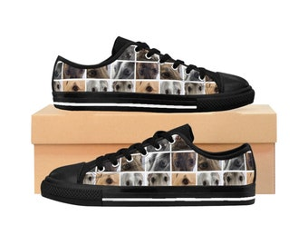 Woman's Greyhound Low-top Sneakers #3