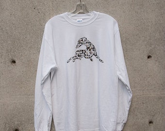 Collage GREYHOUNDS Long Sleeve T-shirt