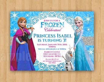 10 printed frozen theme elsa movie birthday party etsy