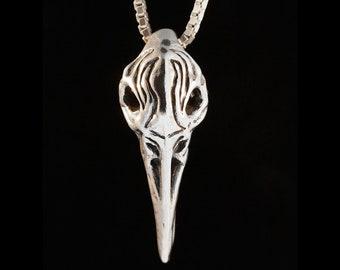 28c6147d5 Raven Skull Necklace Tribal Skull Pendant Skull Jewelry Skull Pendant Bird  Skull Jewelry Crow Necklace Tribal Jewelry Flame Skull Bird Skull