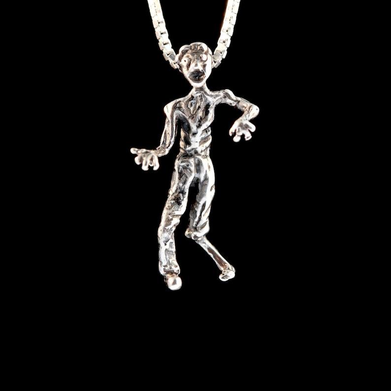 Zombie Charm Zombie Jewelry Zombie Necklace Zombie Doll The image 0
