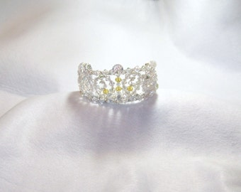 Princess Amber,Mini Tiara Crown. For cosplay, dress up, Halloween, Birthday,