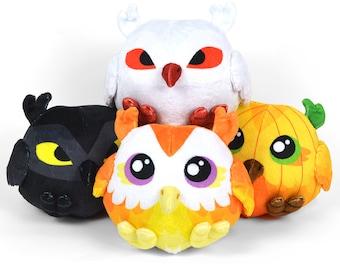 Cute Owl Plush Etsy