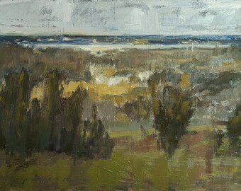 January at the Overlook | Oil Painting | 6.5 x 8.5