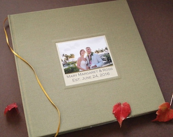 Deluxe Wedding Photo Booth Guest Book Album · Personalized DIY Wedding Photo Scrapbook · Photobooth Guestbook · DIY Gift for Bride & Groom