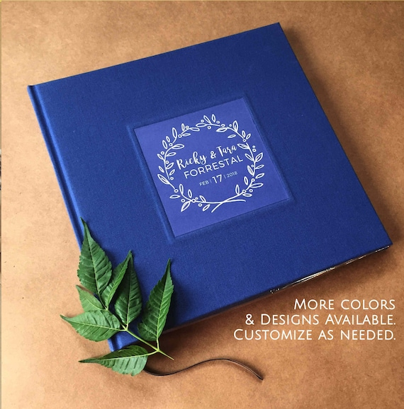 Custom Photo Booth Guest Book Wedding Album Scrapbook Gift Etsy