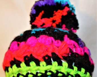 Newborn baby hat (STICKY NOTE BLUE)