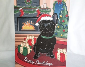 French bulldog cards | Etsy