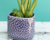 custom listing for dreamswing purple plant container