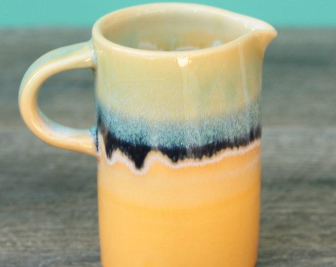 orange pourer // pourer //  syrup pitcher // creamer