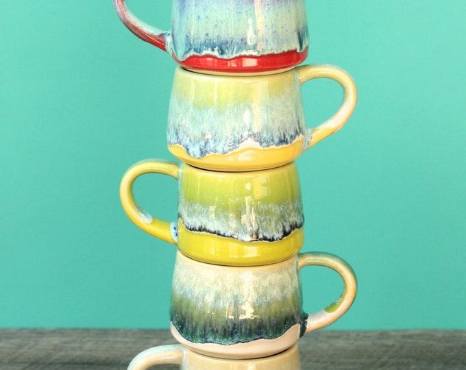 espresso cup // small mug // kid coffee mug