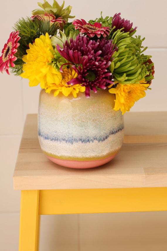 bud vase // coastal decor // boho vase // small flower vase