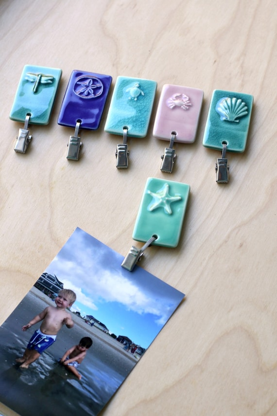sea life magnetic clip, your choice of one