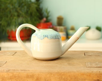 mini watering can // small water pitcher // gardener gift