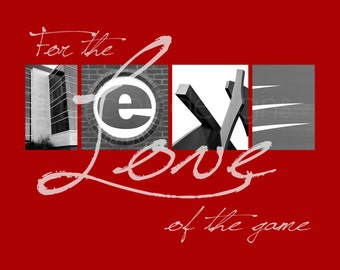 """SIUE Cougars """"For the Love of the Game"""" Photographic Print"""