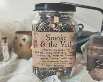 Smoke & the Veil- Black Tea Blend for Clarity and Reverence