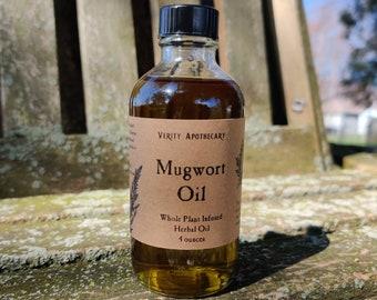 Mugwort Whole Herb Infused Oil