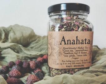 Anahata- Green Tea Blend for the Heart Chakra