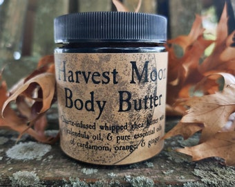 Harvest Moon Body Butter- Quartz Infused Whipped Shea Butter
