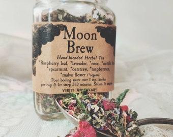 Moon Brew- Handblended Herbal Female Tonic Tea