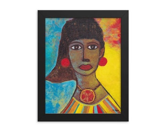 Afrocentric Art, Fine Art Reproduction, 8 x 10 inches