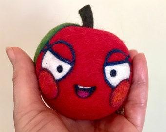 Teacher's Pet Apple WOOLY Jingle Ball Toy Ready to Ship