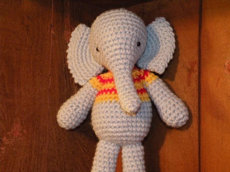 Elephant Amigurumi - Free Crochet Pattern • Craft Passion   596x794