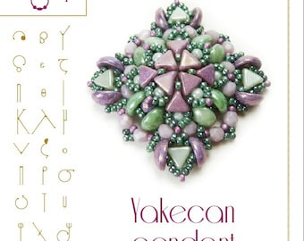 Pendant tutorial / pattern Yakecan pendant – PDF instruction for personal use only
