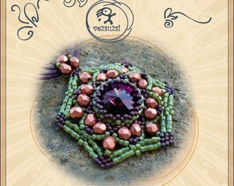 pendant tutorial / pattern Gazso pendant... PDF instruction for personal use only