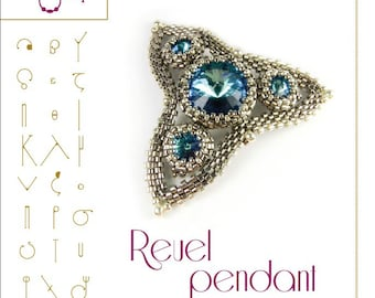 Pendant tutorial / pattern  Reuel pendant – PDF instruction for personal use only