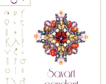pendant tutorial / pattern Savart pendant ...PDF instruction for personal use only